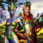 Playing and ivory or build human city Elvenar