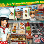 Cook at recipes with match-3 games
